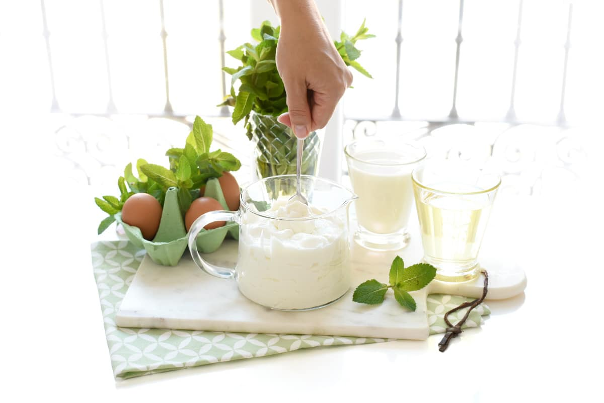 Lactonesa con aceite de oliva o girasol