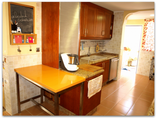 Nuestras cocinas: Hoy visitamos la cocina de Vicky