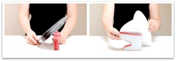 Sirve tartas de papel o paper cake stand: en color pink