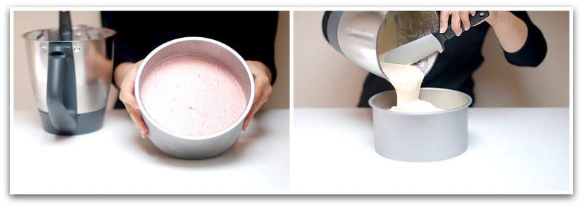 Tarta helada con frutas paso 2