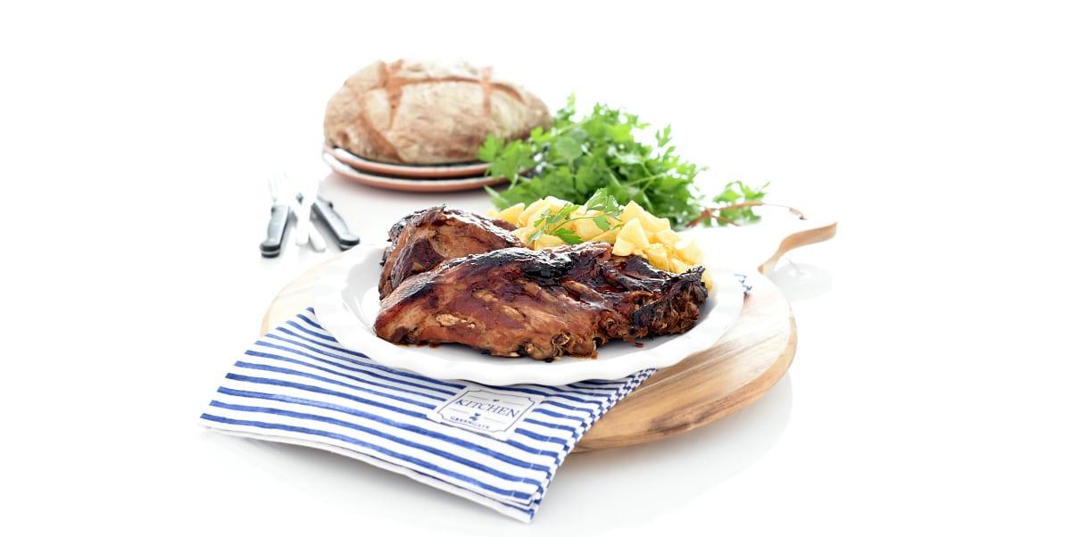 Costillas barbacoa, súper fáciles en Crock-Pot®